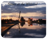 Sunset at the Welland