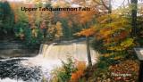 Upper Tahquamenon Falls Fall, Michigan