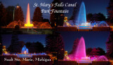 Soo Locks Fountain
