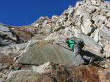 Climbing Mount Emerson, Oct 2007