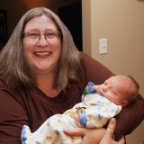 Zachary in Grandma's Arms