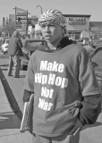 Make hip hop not war