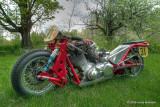 Red Molly - A Vincent-powered racing sidecar