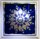 Late Victorian glass tile
