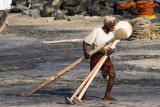 Fisherman with Oars