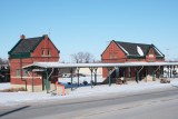 Illinois Central Depot, Independence, Iowa