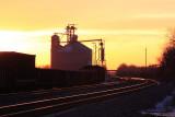 Quiet sunset at Stering Grain.JPG