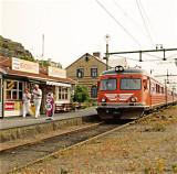 Strömstad - The Railwaystation (as it was)
