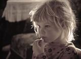 Hanna thoughtful