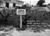 Kwaj Japanese Cemetery 1952