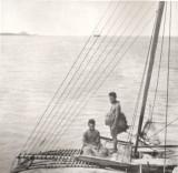 1890's canoe close up