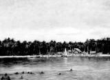 Wettschwimmen der Eingeborenen ( a Swimming Race of The Nati