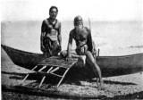 Marshallese Korkor Canoe In Jaluit pre 1905