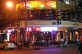 One of many bars/restaurants for tourists in Saigon