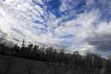 Spring sky in Milan