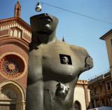 Monument in Brera