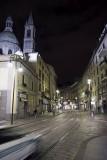 Via Torino by night