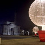 Christmas time in Piazza Sempione