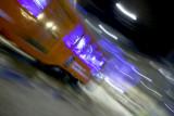 Milan Tram by night