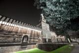 Castello Sforzesco by night