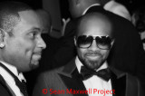 Devyne Stephens and Jermaine Dupri at Atlanta History Center
