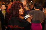 Legendary Chaka Khan on the Red Carpet at the Soul Train Music Awards Show in Atlanta on Nov 3rd 2009