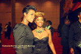 Fantasia Barrino and Kandi Burruss on the Red Carpet at the Soul Train Music Awards Show in Atlanta on Nov 3rd 2009