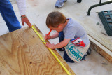 Brooks Builds his Sandbox