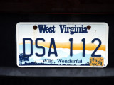 Wild, Wonderful West Virginia - license plate