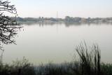 View of Bahir Dar across Lake Tana from the Tana Hotel