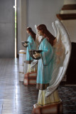 Holy water angels, Paoay Church