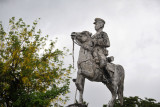 Statue of a mounted military officer, Paoay
