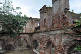 Ruins across from the Paoay Church