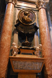 Monument to Queen Christina of Sweden (1626-1689) who relinquished the throne to convert to Catholicism