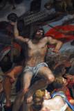 Mosaic of St. Sebastian after a painting by Domenichino