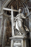 St. Helena, the mother of Emperor Constantine, by Andrea Bolgi, 1635