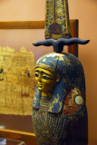 Wooden box for Book of the Dead as statue of Osiris-Ptah-Sokar of Memphis, 3rd C. BC