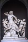 Laocoön Group, Museo Pio-Clementino, Vatican Museum