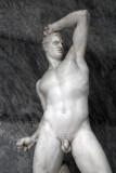 The Greek boxer Cruegas of Epidamnos by Antonio Canova, Museo Pio-Clementino