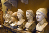 Roman busts in the Museo Chiaramonti, Vatican Museum