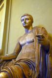 Statue of the Emperor Tiberius, Museo Chiaramonte (inv 1511)