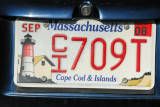 Massachusetts License Plate - Cape Cod & Islands