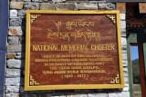 National Memorial Choeten built in 1974 by HM Queen Phuntsho Choden Wangchuck in memory of the Third King of Bhutan