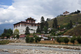 Rinpung Dzong, more commonly referred to as the Paro Dzong