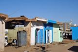 Small shops in Khartoum North