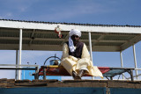 Sudanese man on the Old Dongola Ferry