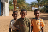 Young Sudanese boys from Old Dongola