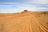 Sandy tracks at Old Dongola