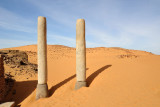 Twin columns, Old Dongola