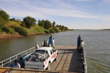 Old Dongola Ferry turning